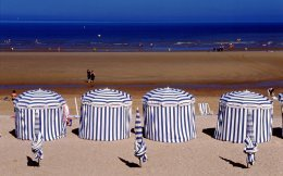 cabourg plage