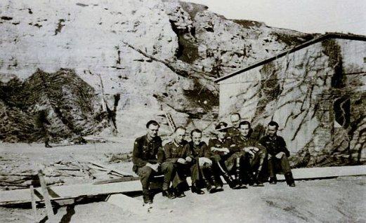 Le bunker souterrain au Mémorial deCaen