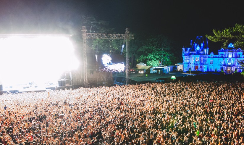Festival pop-rock au château de Beauregard du 30 Juin au 3Juillet