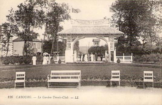 Le Garden Tennis deCabourg