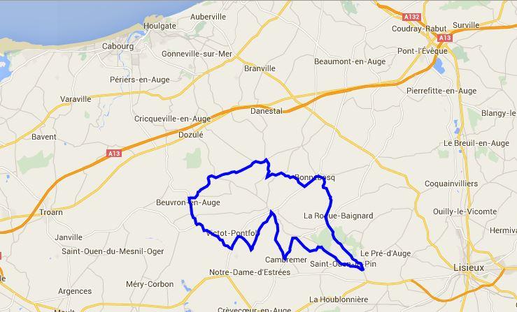 La route du cidre: 40 kms au cœur du Paysd'Auge