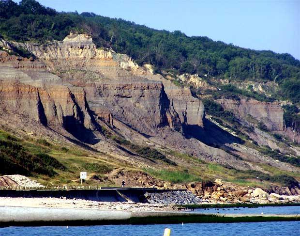 Les falaises des Vachesnoires