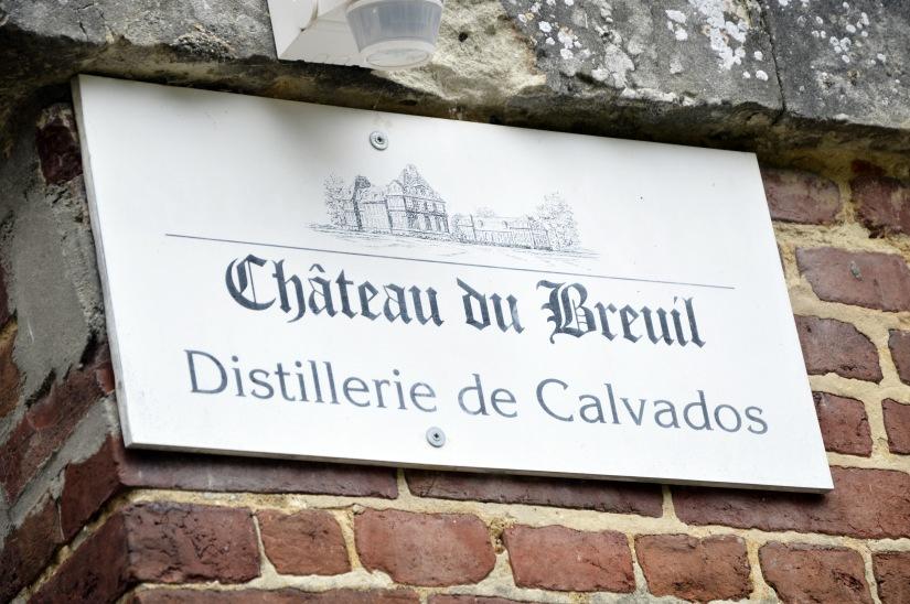 Visite au Château duBreuil