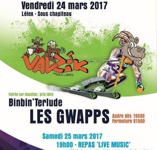 Le 24 mars à Lélex, concert d'ouverture des Championnats deFrance!